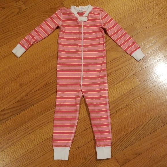 Hanna Andersson Other - Hanna Andersson Pink Striped Pajamas Size 90